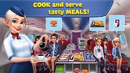 Screenshot 3: Airplane Chefs - Cooking Game