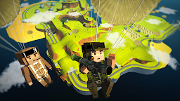 Screenshot 3: Blocky Army Battle Royale - Toon Multiplayer Game